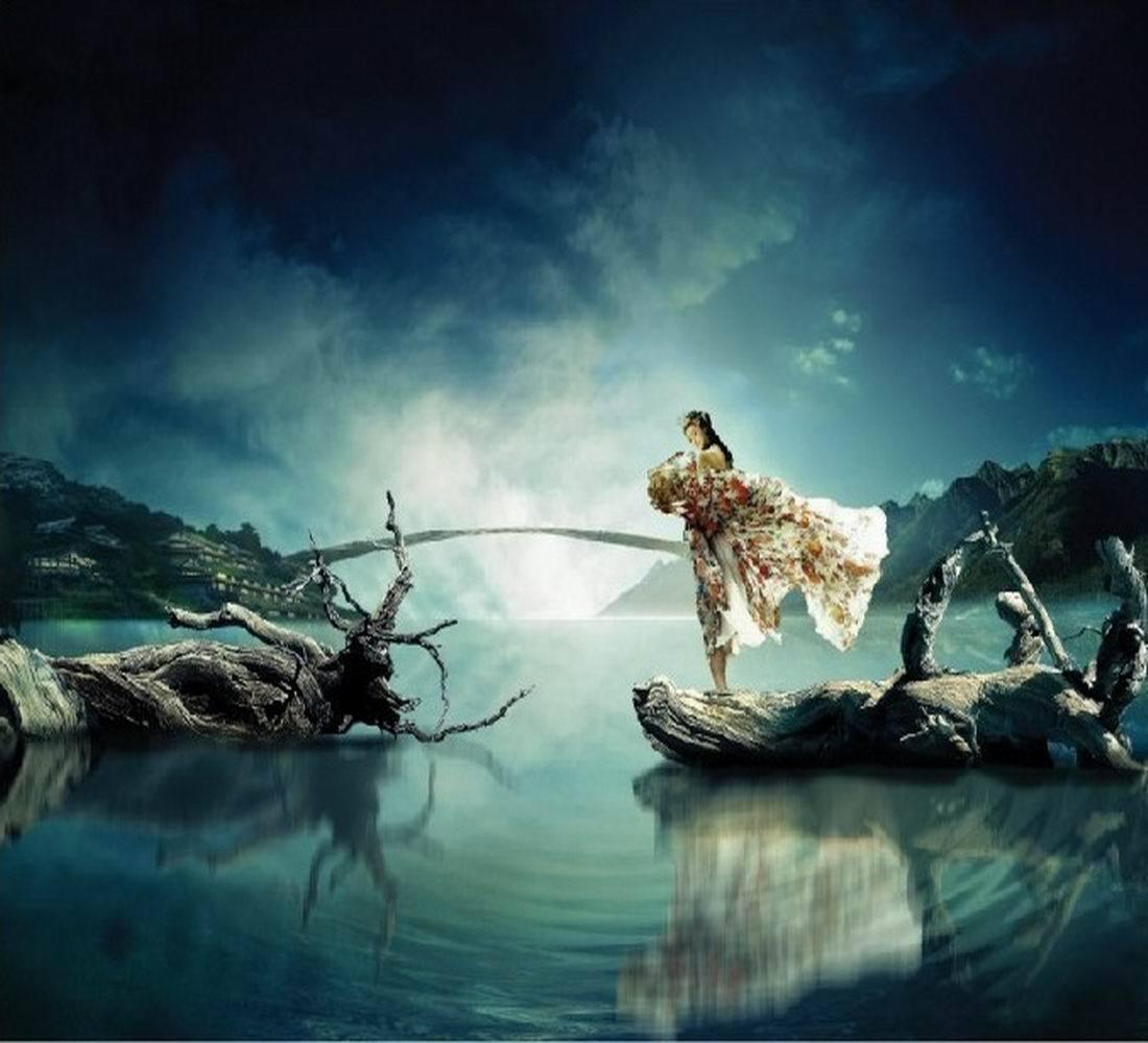 夢到一個人代表什么?圖片
