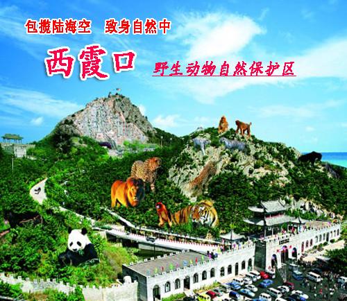 山东威海旅游/自驾游/生态游/自助游/西霞口神雕山野生动物园门票