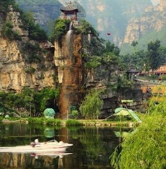 北京房山十渡孤山寨门票 碧波园 哈哈乐园 亲水娱乐 快艇 铁索桥