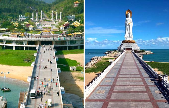 海南三亚旅游南山寺门票 南山 天涯海角 自由行景点门票预定