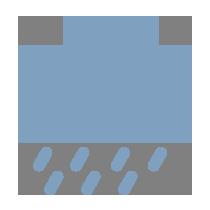中雨到暴雨