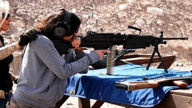 【下单立减55】拉斯维加斯MGV户外射击体验